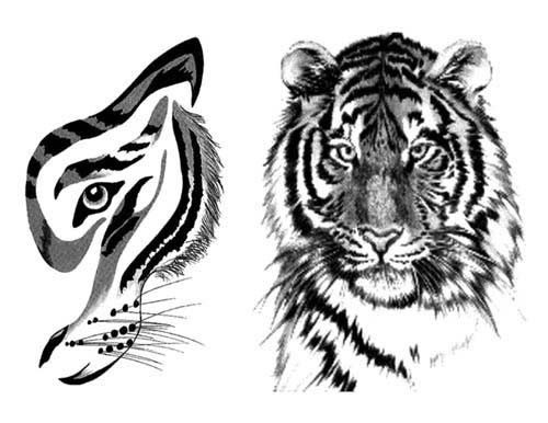 Эскизы татуировок кошки