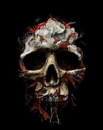 Татуировки черепа