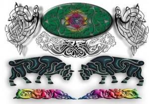 Кельтские татуировки - Эскизы