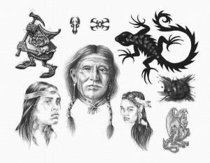 Эскизы татуировок на любой вкус