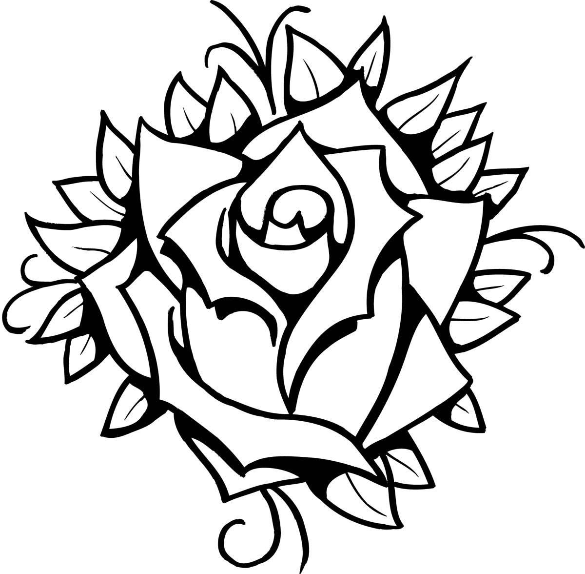 Розы на руку тату ручкой