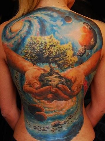 Самые красивые татуировки в мире