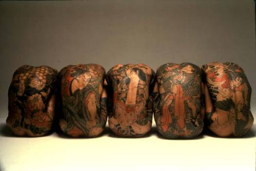 Красивые японские татуировки