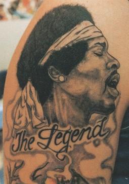 Фото татуировок - портреты