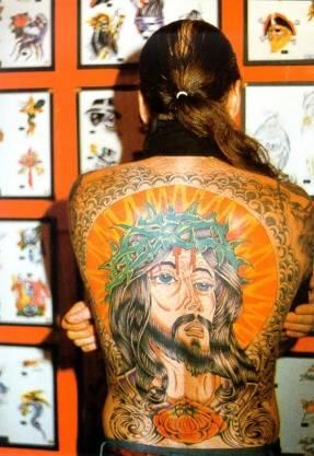 Фото татуировок - религия