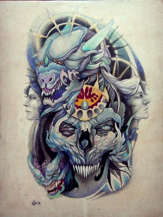 Изображения татуировок