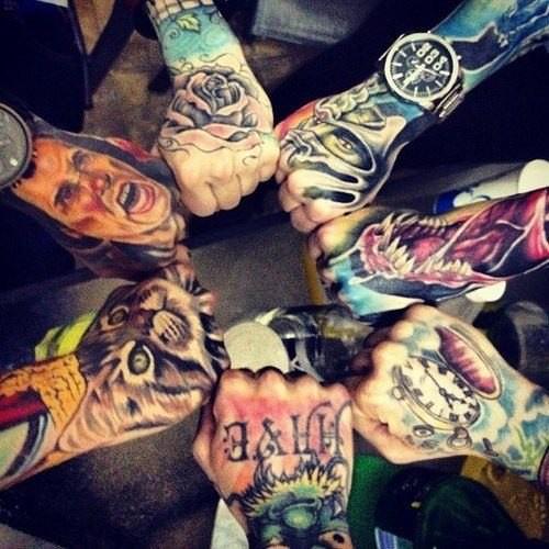 Лучшие татуировки 2011