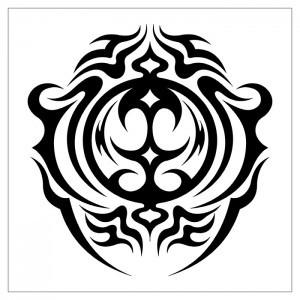 Черно-белые эскизы татуировок