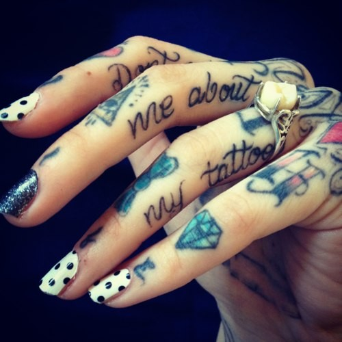 Татуировки на кисти