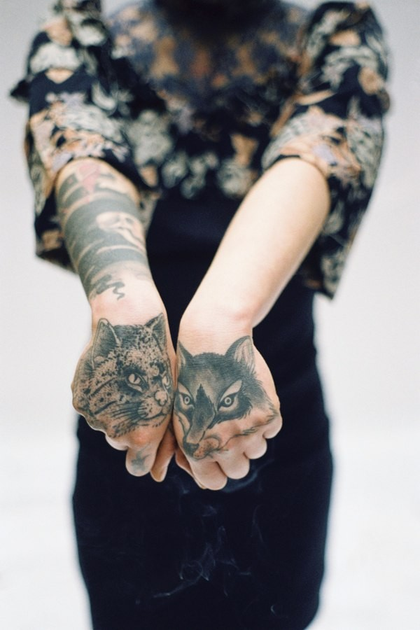 Татуировки на кисти руки