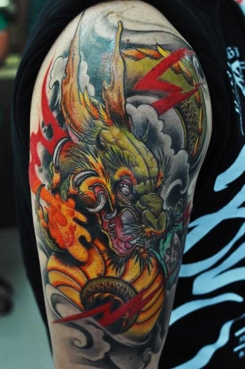 Лучшие татуировки дракона