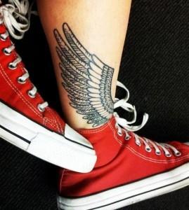 Татуировки для девушек на ногах