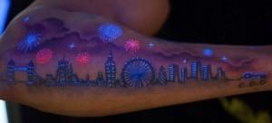 Светящиеся в темноте татуировки