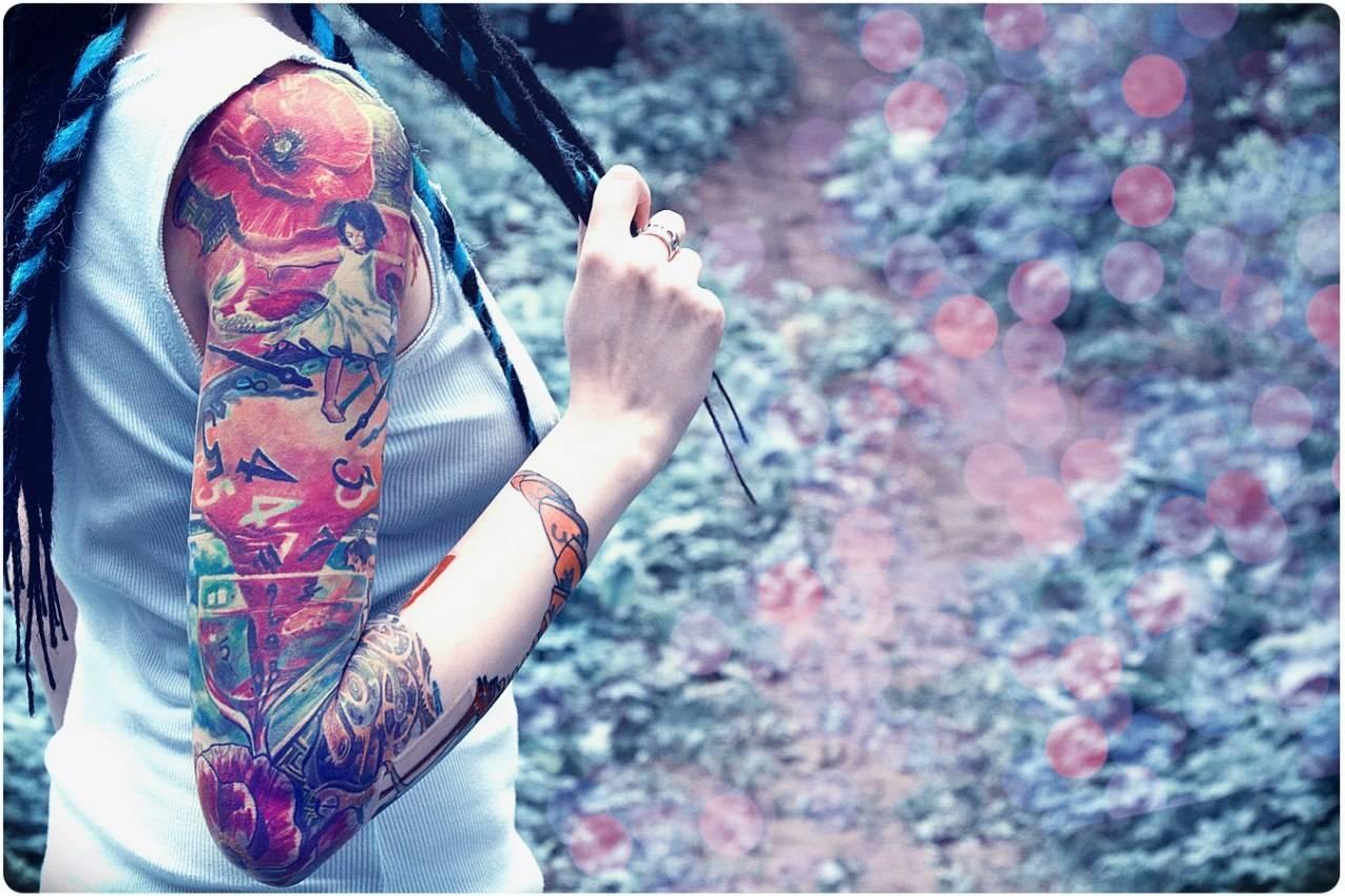 Татуировки картинки на руку для девушек фото