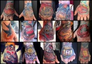 Татуировки на кистях