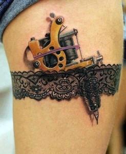татуировка подвязка