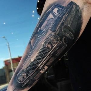 Татуировки автомобили