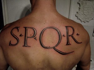 tattoo-spqr