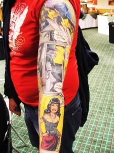 Татуировки на всю руку