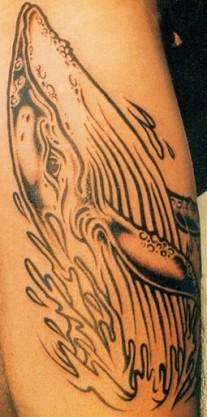Татуировка Кит
